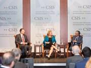 Vietnamese, US ambassadors talk bilateral ties