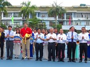 Vietnam international tennis tourney opens