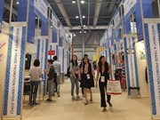 Vietnamese fashion products displayed at Hong Kong Fair