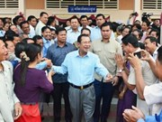 Cambodia starts communication campaign for general election