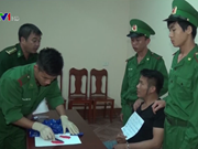 Quang Tri border force seizes 7,400 meth pills trafficked from Laos