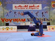 First Vietnamese martial art Grand Prix event in Algeria