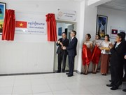 Vietnam Room at University of Cambodia inaugurated