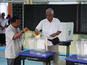 Malaysians cast ballot in general election