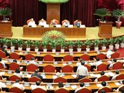 Fourth working day of Party Central Committee's 7th plenary meeting