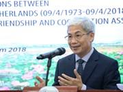 Ceremony marks 45th anniversary of Vietnam-Netherlands diplomatic ties