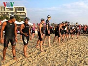 Over 1,600 triathletes race in Techcombank Ironman 70.3