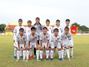 VN to meet Laos in third-place match at AFF U16 girls' champs