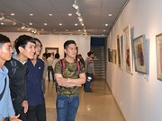 International watercolour exhibition opens in HCM City
