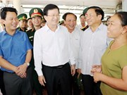 Deputy PM inspects seafood catching, trading in Ha Tinh