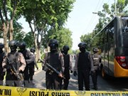 Indonesia tightens security to cope with terrorism risks