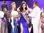Vietnamese girl wins Miss Global Tourism title