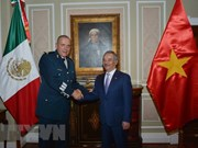 Mexican defence chief receives new Vietnamese Ambassador