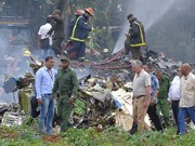 Sympathy to Cuba over plane crash