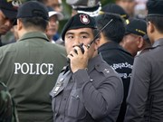 Thailand declares no-go zone for opposition march