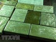Thanh Hoa police seize 60 bricks of heroin