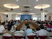 International peace conference held in Quang Tri