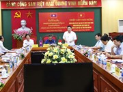 Lao Party Organisation Commission delegation visits Thai Nguyen