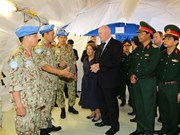 Australian Governor-General visits Vietnam's level-2 field hospital