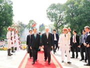 Australian Governor-General wraps up State visit to Vietnam