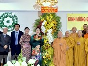 Buddhists in HCM City congratulated on Lord Buddha's birthday