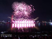 Fireworks sparkle above Han River on second night of int'l festival