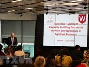 Australia-Vietnam forum increases capacity for female entrepreneurs