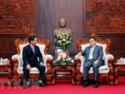 Vietnamese, Lao fronts tighten cooperation