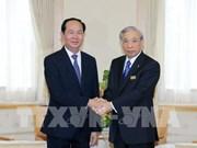 President Tran Dai Quang visits Japan's Gunma prefecture