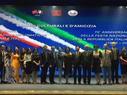 Italy's 72nd National Day marked in Hanoi