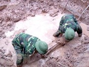 French-era bomb found in Yen Bai
