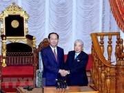 President meets Speaker of Japan's House of Councillors