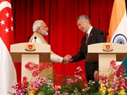 "India, Singapore build ""partnership of our age"""