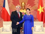 NA Chairwoman hosts Czech Republic parliament leader