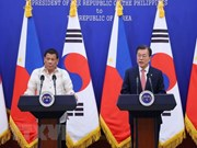 Leaders of RoK, Phillippines agree to bolster bilateral cooperation