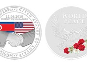 Singapore launches special medallions for US-DPRK Summit
