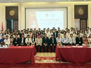 Vietnamese students in Beijing active in charitable activities
