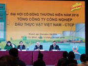Vietnam vegetable oil company eyes 4.8 trillion VND in revenue