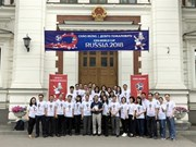 Vietnam Embassy in Russia joins World Cup heat