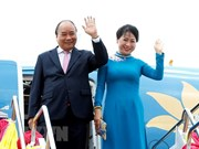 PM Nguyen Xuan Phuc arrives in Bangkok