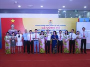 Trade union set up in LG Display Vietnam-Hai Phong