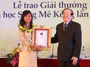 Mekong river literature award presented