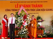 New Zen Buddhist monastery opens in Hau Giang