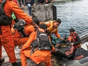 Indonesian police detain captain of sinking boat at Lake Toba