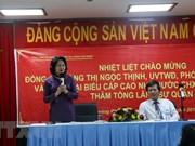 Vice President Dang Thi Ngoc Thinh wraps up Laos visit