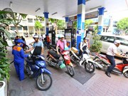 Petrol, oil prices slightly decrease