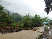 Floods, landslides cause serious damage to Lai Chau province