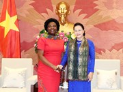 NA Chairwoman receives WB Vice President for East Asia & Pacific