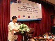 International organisations help Vietnam in tobacco prevention