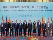 ASEAN, China urge trust building measures in DOC implementation